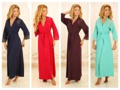 Роскошные длинные халаты от ТМ Violet Delux